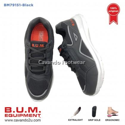 BUM Equipment Unisex Sport Shoes BM79151/BM79152 (Black/Blue)
