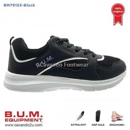 BUM Equipment Unisex Sport Shoes BM79153/BM79154 (Black/Grey)