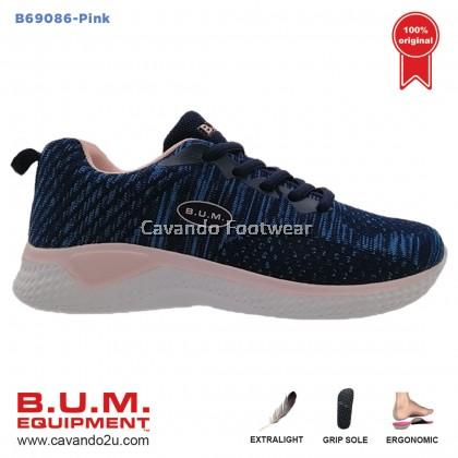 BUM Equipment Unisex Sport Shoes B69086/B69087/B69088 (Blue / Pink / Purple) Sneaker Canvas