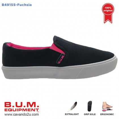 BUM Equipment Canvas Shoes B49155/B49156 (Fuchsia / Blue)  Unisex Sneakers