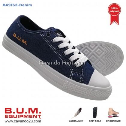 BUM Equipment Canvas Shoes B49160/B49161/B49162 (Red / Fuchsia / Denim)  Unisex Sneakers