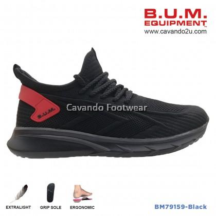 BUM Equipment Unisex Sport Shoes BM79159/BM79160 (Black/Brown)